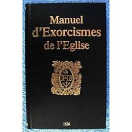 MANUEL D EXORCISME DE L EGLISE