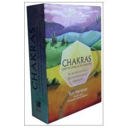 Chakras - Cartes oracle de sagesse - Un guide spirituel de transformation intérieure
