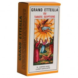GRAND ETTEILA - TAROTS EGYPTIENS - JEU DE 78 CARTES