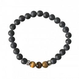 Bracelet 22 cm en onyx...