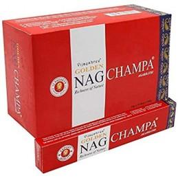 BOX Golden Nag CHAMPA 12 X...