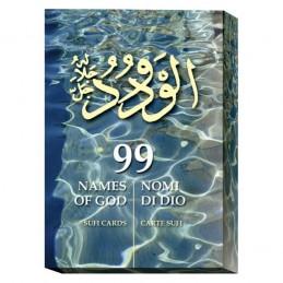 Coffret 99 Noms de Dieu - Cartes soufis