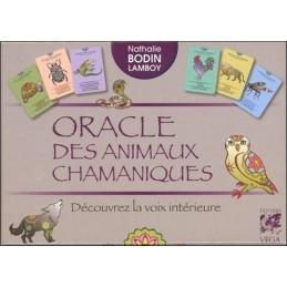 ORACLE DES ANIMAUX CHAMANIQUES - NATHALIE BODIN