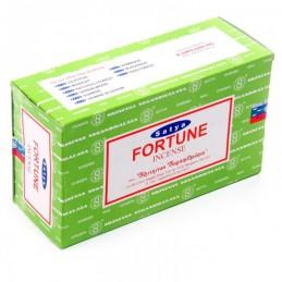Encens Satya Nag Champa Fortune LOT DE 12 BOITES DE 15 GR