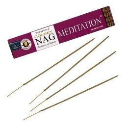 Encens Golden Nag Meditation BOITE DE 15 GR
