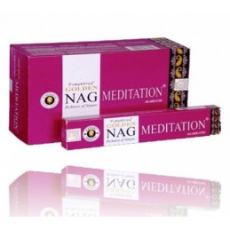 Encens Golden Nag Meditation LOT DE 12 BOITES DE 15 GR