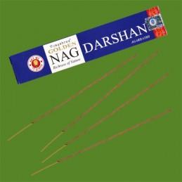 Encens Golden Nag Darshan boite de 15 gr