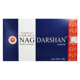 Encens Golden Nag Darshan 12 boites de 15 gr