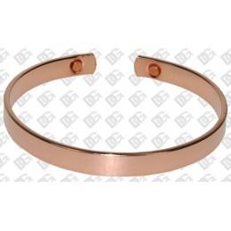 Bracelet 100 % cuivre et aimant PM