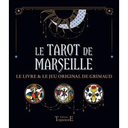 Le coffret du Tarot de Marseille - Livre + Jeu GRIMAUD