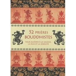 52 PRIERES BOUDDHISTES - COFFRET COLLECTIF