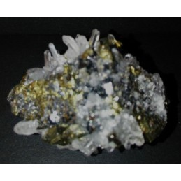 HUARON Pyrite Quartz, Sphalerite Mine, Pasco Dept., Perou