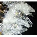 HUARON Pyrite Quartz, Sphalerite, Galene Mine, Pasco Dept., Perou