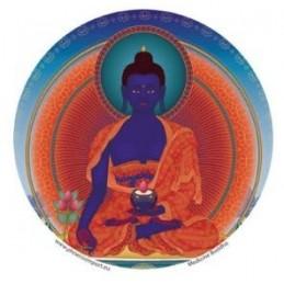 Adhésif verre/fenêtre Bouddha Médecine