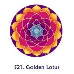 Adhésif verre/fenêtre Lotus de Méditation