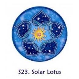 Adhésif verre/fenêtre Lotus Solaire