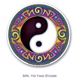 Adhésif verre/fenêtre Yin et Yang