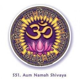 Adhésif verre/fenêtre Om Namah Shivaya