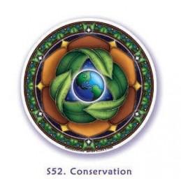 Adhésif verre/fenêtre Protection de la Terre