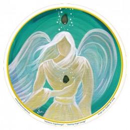 Adhésif verre grand Ange de l'Âme