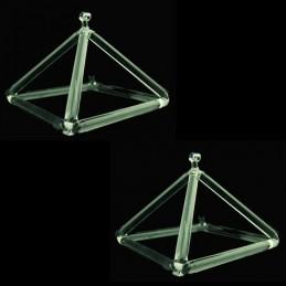 Pyramide musicale de cristal Qualité supérieure