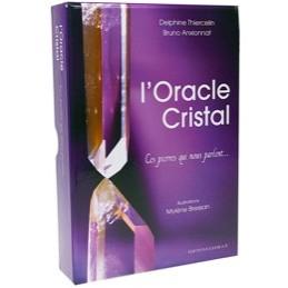 L'oracle cristal - Ces pierres qui nous parlent CARTE + LIVRE