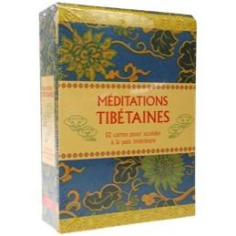 Méditations Tibétaines - Coffret 52 cartes pour accéder à la paix intérieure