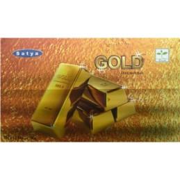 Encens Satya Nag Champa GOLD BOITE DE 15 GR