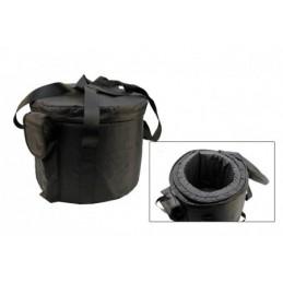 Housse deluxe pour bol de cristal sac de transport 25 cm