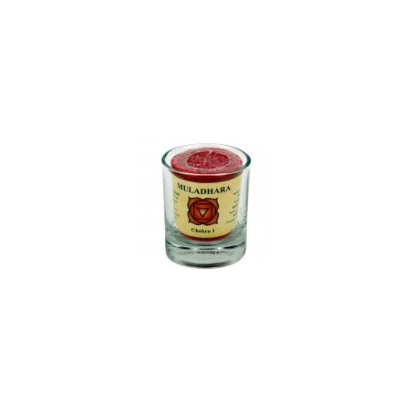 Bougeoir verre pour Bougie Chakra et Chill Out