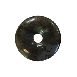 Pi LABRADORITE 30 mm DONUTS CERCLE DE VIE
