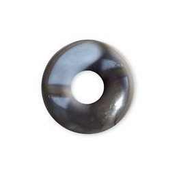 Pi Chinois HEMATITE 30 mm DONUTS CERCLE DE VIE