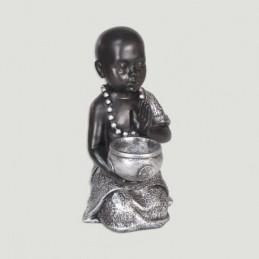 ENFANT MOINE PORTE BOUGIE 17 CM