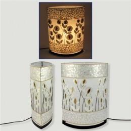 LAMPE EN NACRE 30 /40 CM