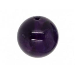 Perle Améthyste ronde. La perle de 8mm