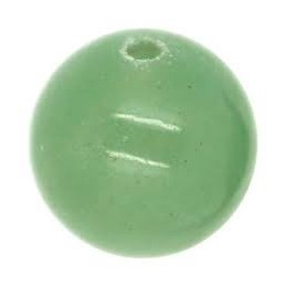 Perle Aventurine ronde. La perle de 6mm