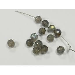 Perle Labradorite naturelle ronde. La perle de 8mm