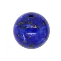 Perle  Lapis lazuli naturel ronde. La perle de 6mm
