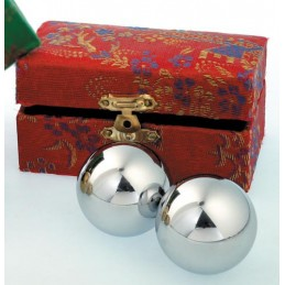 BOULE CHINOISE ARGENTEE