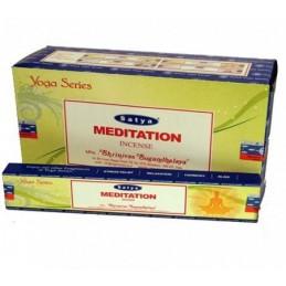 Encens Satya Nag Champa MEDITATION BOITE DE 15 GR