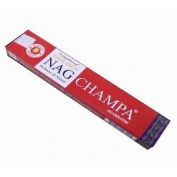 Encens Golden Nag CHAMPA 12 boites de 15 gr
