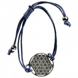 Bracelet Fleur de Vie -BLEU