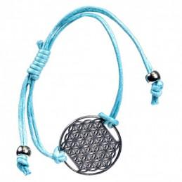 Bracelet Fleur de Vie -TURQUOISE