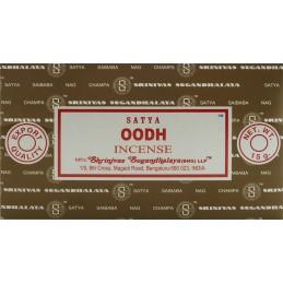 OUDH / OODH DE SATYA 15 GR LOT DE 12 BOITES