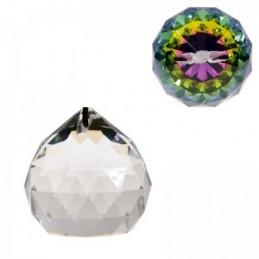 Cristal arc en ciel - Sphère - qualité AAA 40 MM FENG SHUI