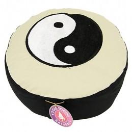 Coussin méditation zafu ying yang