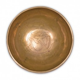 Bol Tibétain gravé OM 15.5 cm 650 a 800 gr
