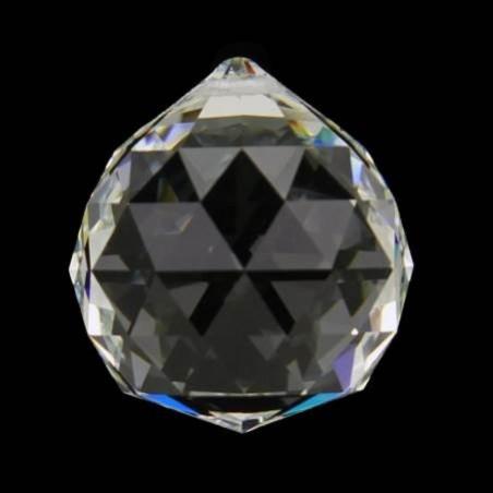 Cristal arc en ciel - Sphère - HARMONIE qualité AAA 20 MM FENG SHUI