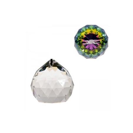 Cristal arc en ciel - Sphère - qualité AAA 50 MM FENG SHUI