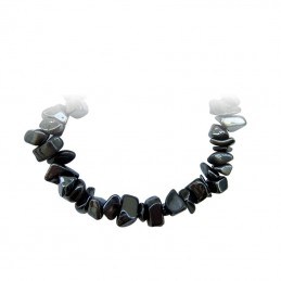 COLLIER BAROQUE HEMATITE